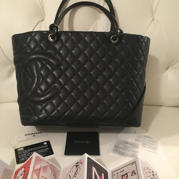 9c7b9c47d588 CHANEL Bags | Price15001200 Authentic Cambon Tote | Poshmark